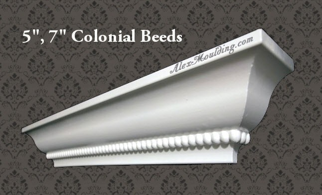 colonial beads 5,7