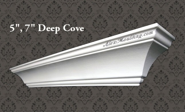 5 And 7 Deep Cove Crown Moulding