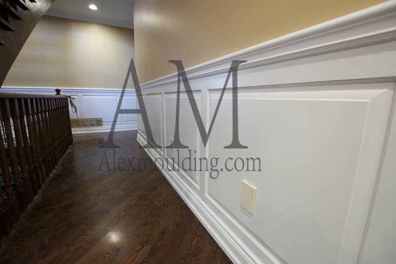 wainscoting wall paneling mdf raised panel wainscotting. Black Bedroom Furniture Sets. Home Design Ideas