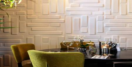 Modern Interior Wainscoting Wood Panels Decorative