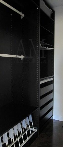 Beaded raised panel wainscot