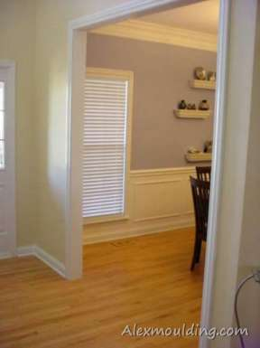 Paneled Casing Openings Wall Paneling Door Frames Toronto Gta