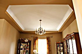 Simple Plain Modern Contemporary Crown Moulding Profiles