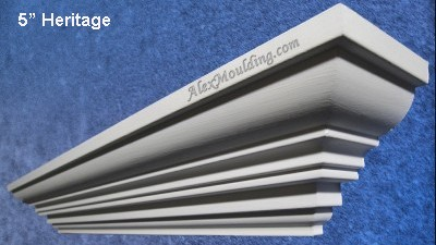 7 inch Straight Modern Moulding