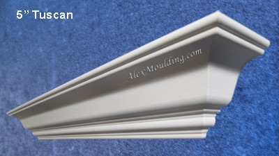 5 inch Smooth Cornice molding