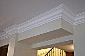 tuscan smooth MDF crown molding