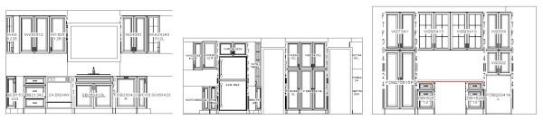 design blueprint for kitchen cabinets