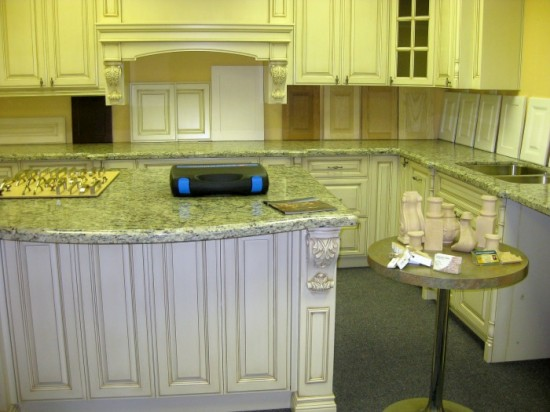 Glazed White Kitchen Cabinets  Toronto & GTA custom kitchen cabinetry