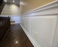 MDF Wood paneling on door openings