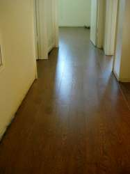 Laminate floors installation