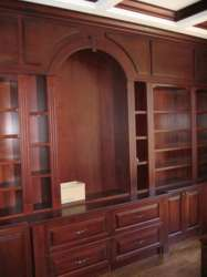 Custom office furniture, office cabinets