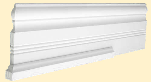 Shoe Moulding on Baseboard
