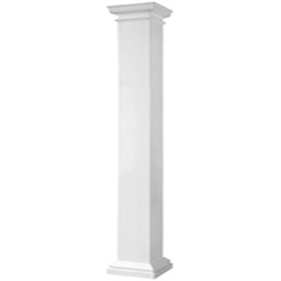 mdf wood columns decorative pillars toronto round fluted