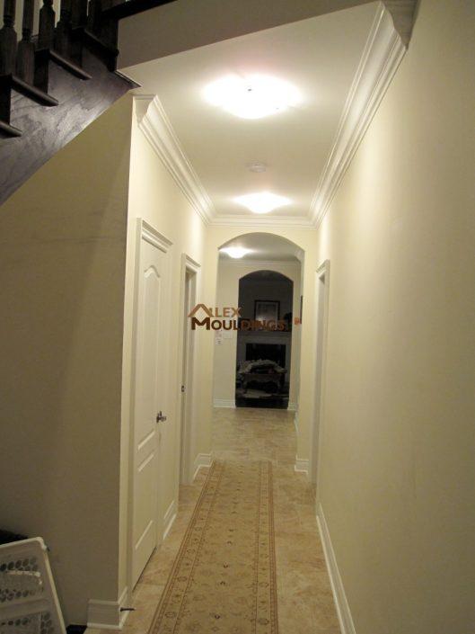 hallway trim work