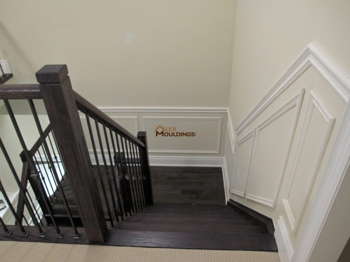 Stairway appliques style