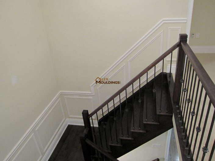 Stairway wall trims