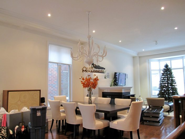 beautiful dining room trims