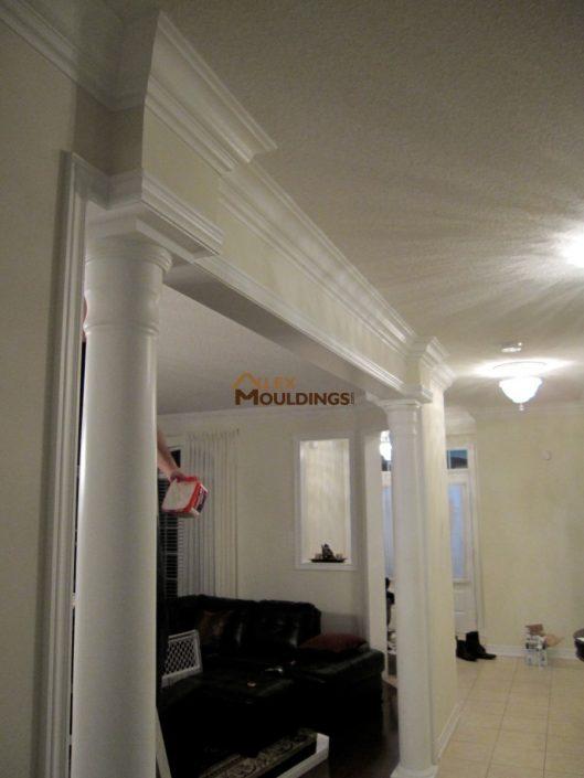 hallway moulding design