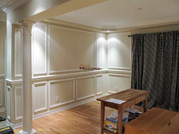 Wall trims design