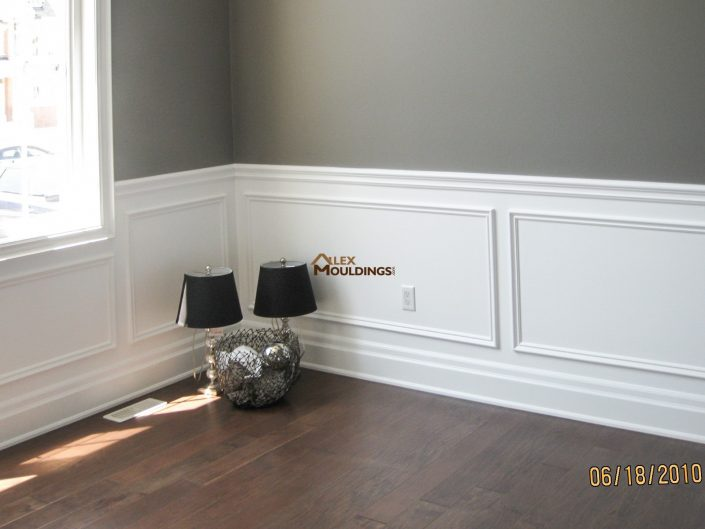 painted half wall appliques