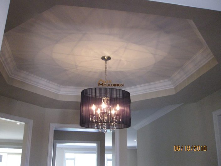 circle ceiling rounded corners