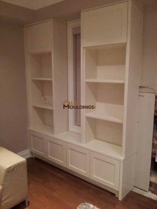 simple wall unit design