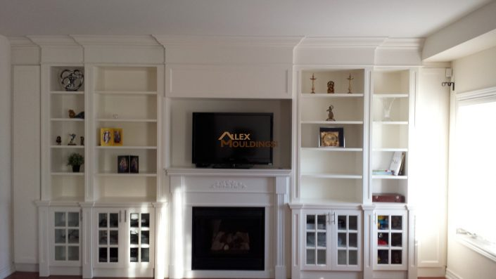 wall to wall built-ins