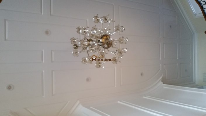 Ceiling Wainscoting Application