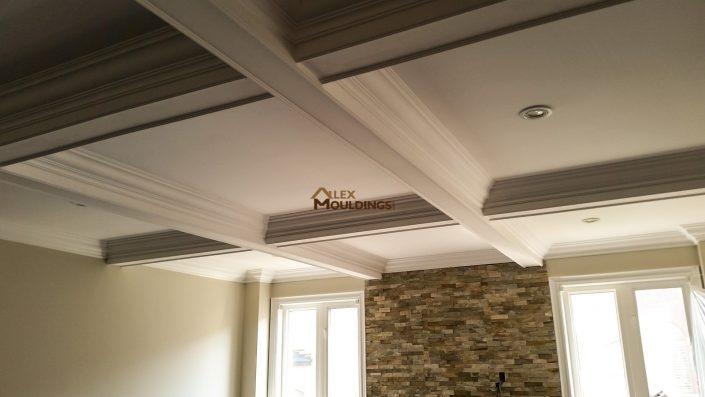 Classic Waffle Ceiling Design