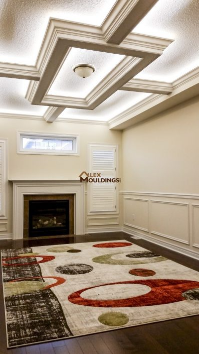 Ceiling Box and Waincotting