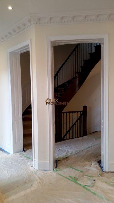 Cased entryway openings design