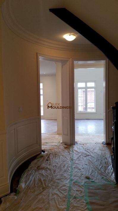 Doorway molding design