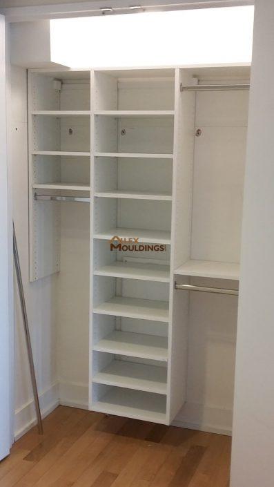 Easy storage closet