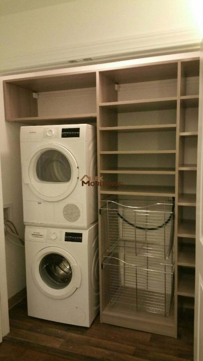 closet laundry room combination