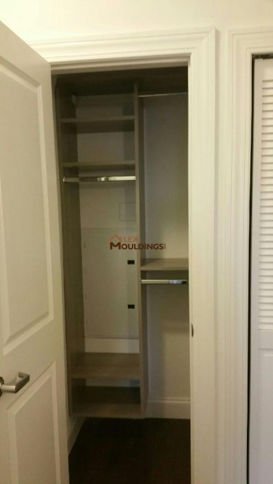 Walk in closet and organizer