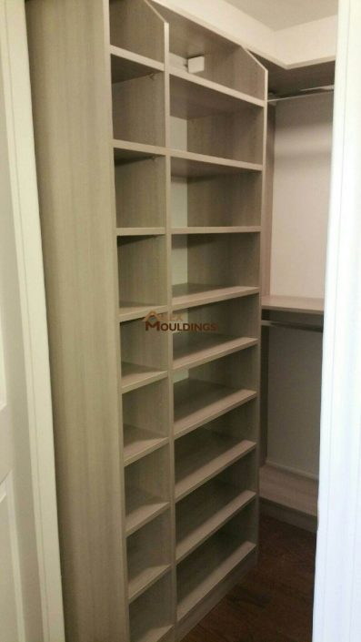 closet shelving solution