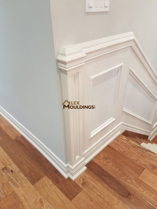 Wainscoting with added details