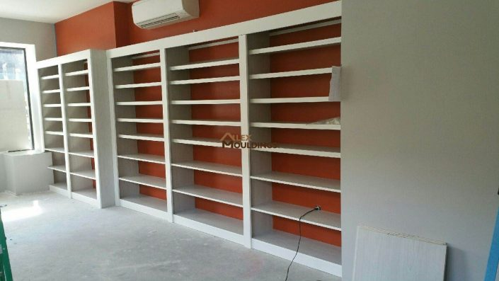 EZ display shelving