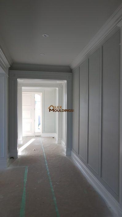 hallway full wall design