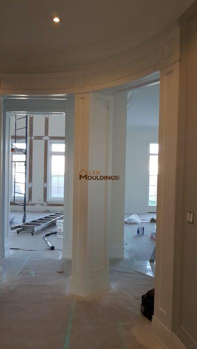 Entryway molding design