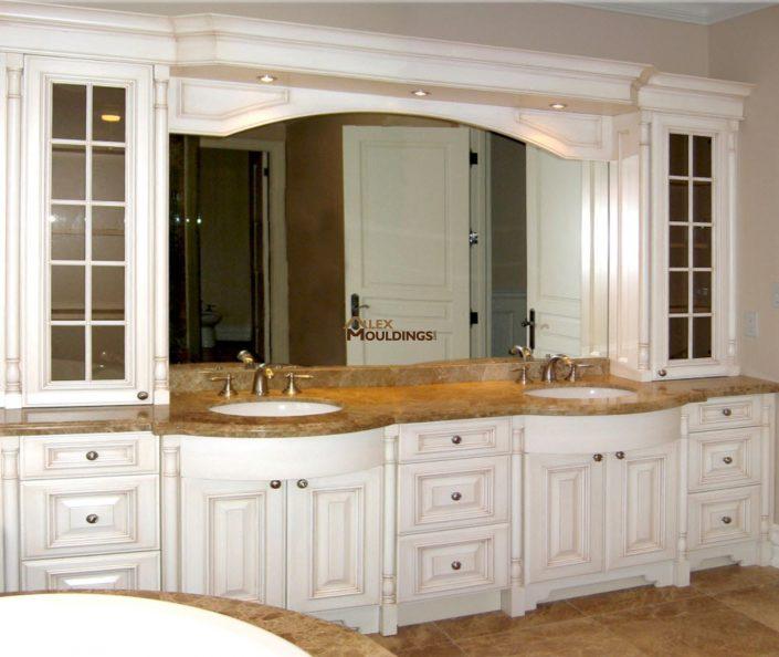 luxury custom bath vanity