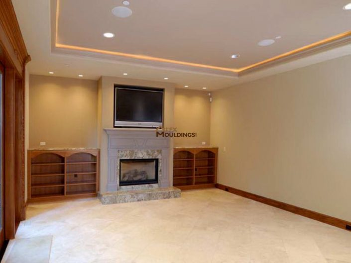 TV room idea for basement