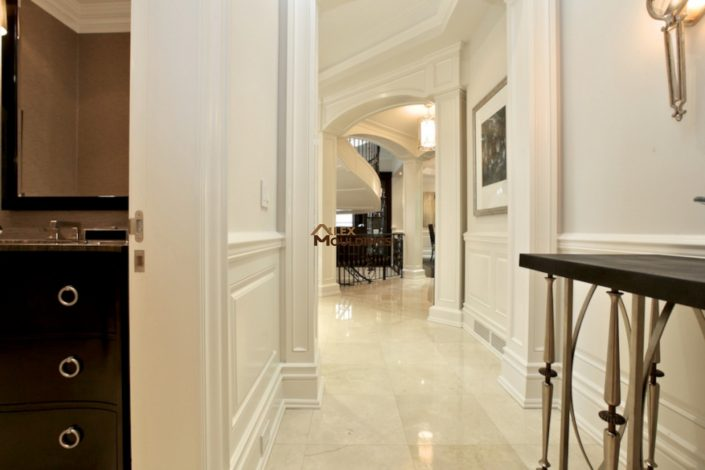 hallway wainscottings