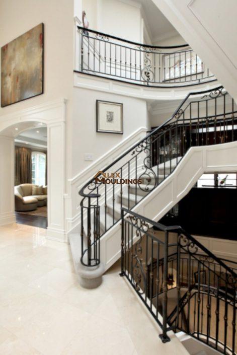 stairway wainscottings