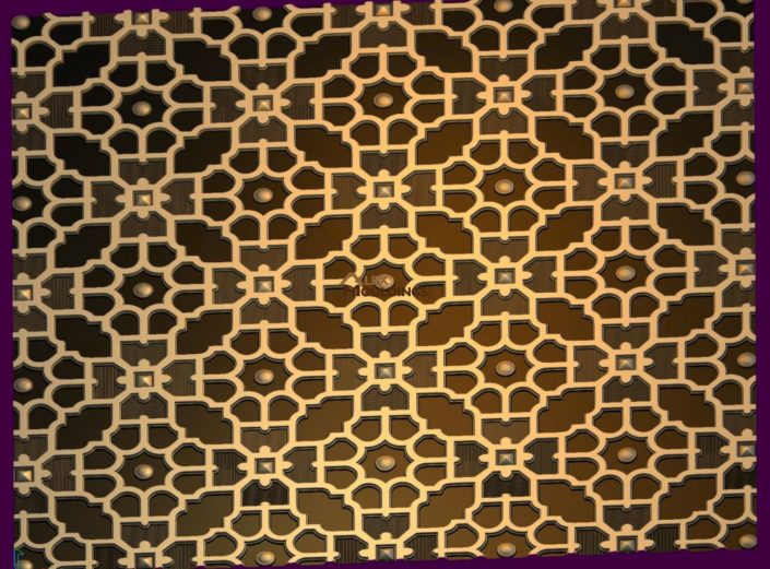 Flower Moroccan pattern