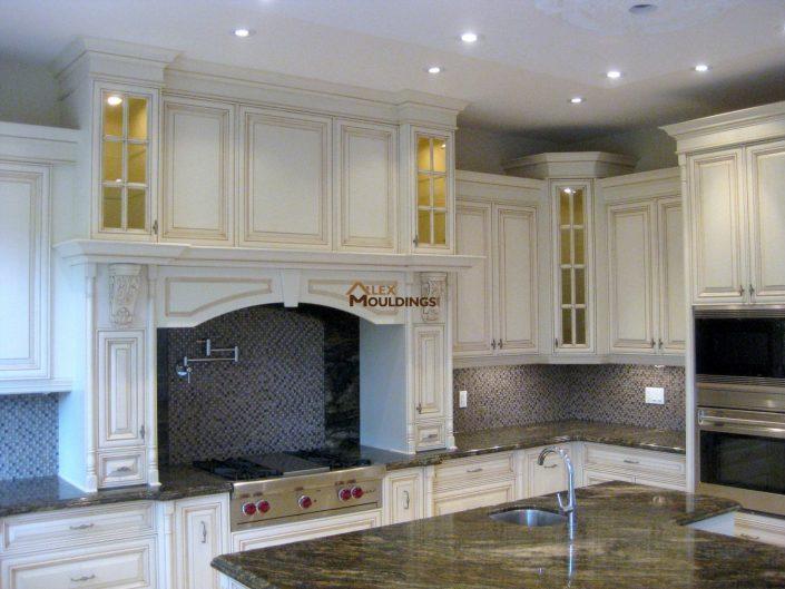 custom designed and manufactured antique kitchen