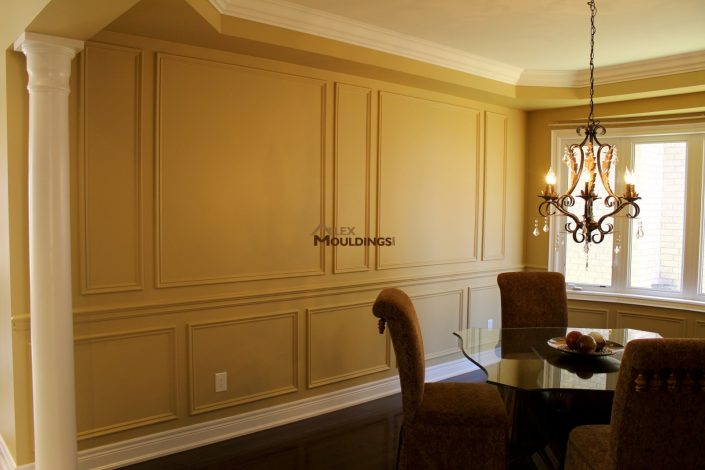 Bottom and top wall frames design