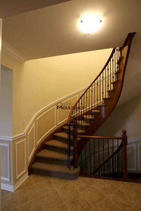 stairway applications wall trim