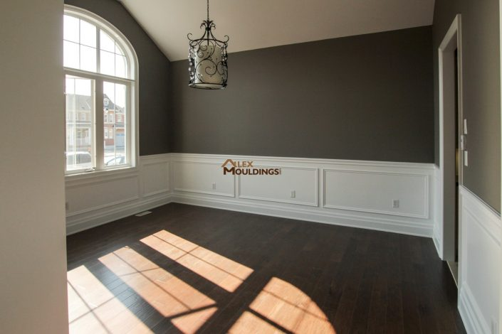 wainscotting painted application