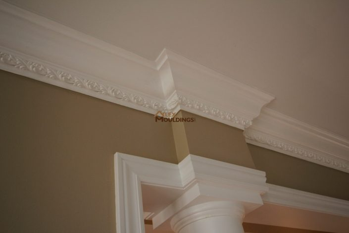 contemporary crown moulding